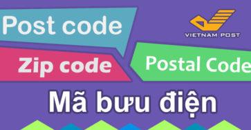 Mã bưu điện 63 tỉnh thành Việt Nam caodem.com