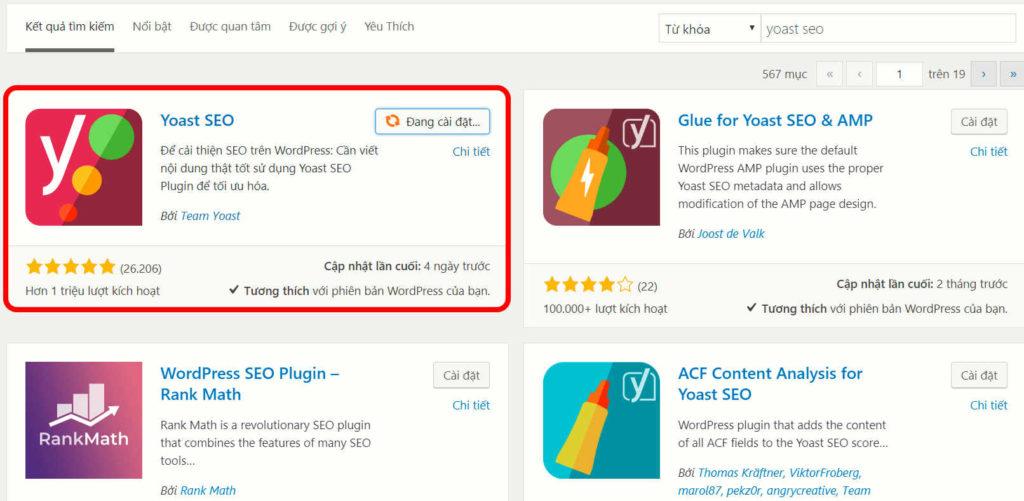Thêm dấu tích xanh vào kết quả tìm kiếm Google caodem.com