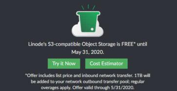 Linode miễn phí 3 tháng dùng thử dịch vụ Object Storage caodem.com