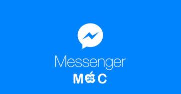Đã có Facebook messenger chính thức cho Macos caodem.com