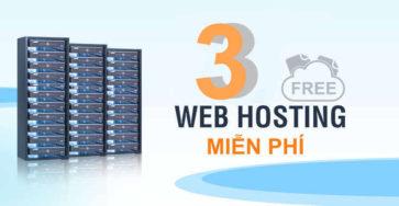 Top 3 web hosting miễn phí năm 2020 caodem.com