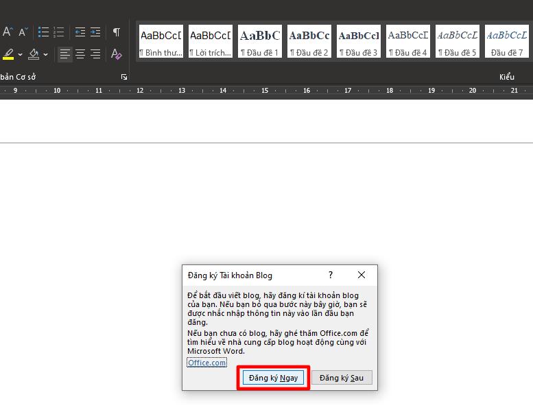 Cách đăng bài viết lên WordPress bằng Microsoft Word