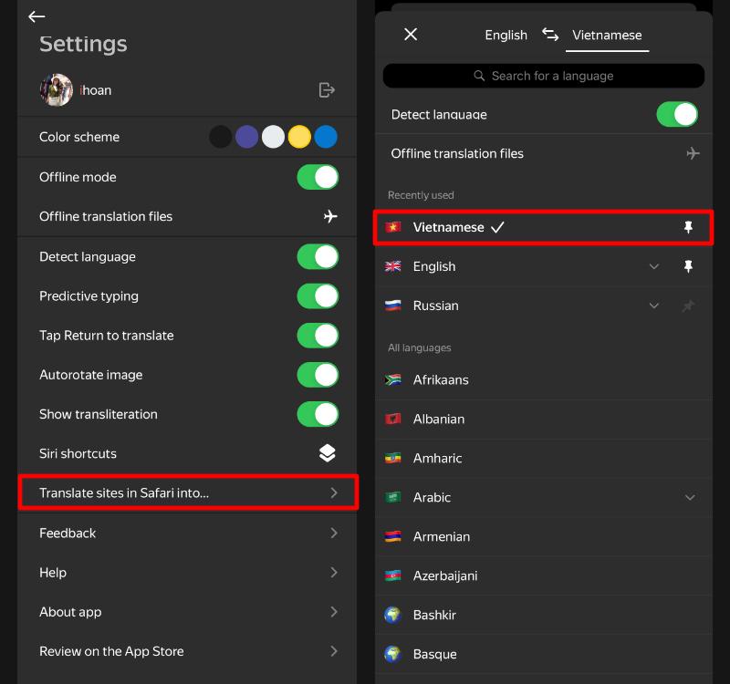 Hai cách dịch trang web trên Safari mobile mà không phải ai cũng biết