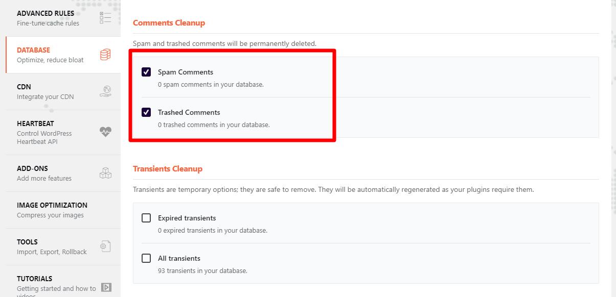 Plugin WP Rocket nén JS, CSS tạo cache tăng tốc website WordPress