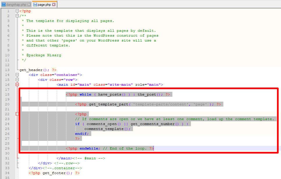 Tự code trang đăng nhập cho WordPress caodem.com